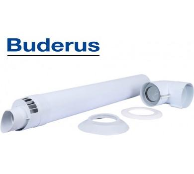 Коаксиальный горизонтальный комплект Ø60/100 мм Buderus (Condensing)
