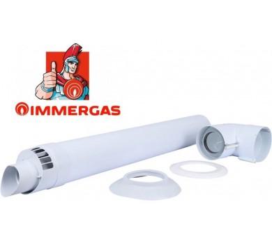 Коаксиальный горизонтальный комплект Ø60/100 мм Immergas (Condensing)