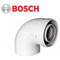 BOSCH AZ 393. Коаксиальный отвод 90°, Ø60/100