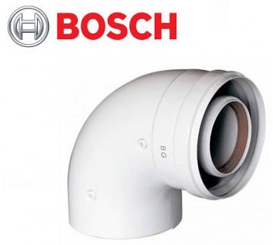 BOSCH AZ 393. Коаксіальний відведення 90°, Ø60/100